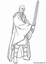 Mace Coloring Windu Wars Star Pages Print Printable Getcolorings Movies sketch template