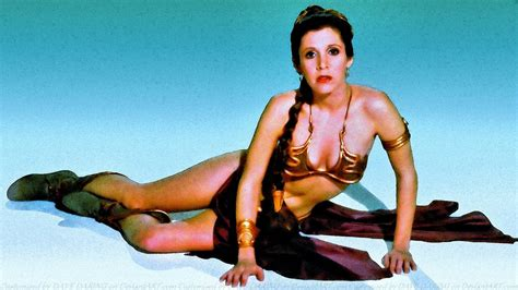 Carrie Fisher Slave Girl Princess Viii By Dave Daring On
