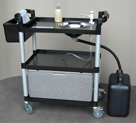 mobile hand wash sink unit portable handwash unit 23 lts sink mobile vphwu