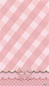 Pink Plaid & Bow Wallpaper. | kawaii ideas | Pinterest ...