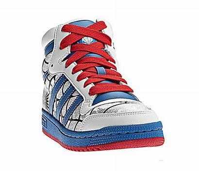 Adidas Ten Rojo Azul Blanco Disney Zapatillas