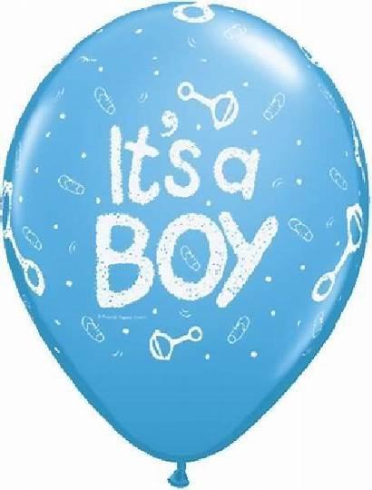 Boy Clip Clipart Printable Shower Balloon Balloons
