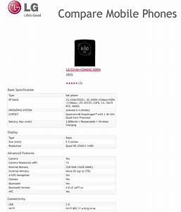 LG G3 detailed specs revelead by an official LG ...