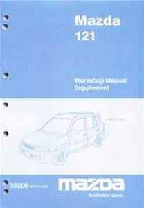 Mazda 121  Dw  2000 Factory Workshop Manual Supplement