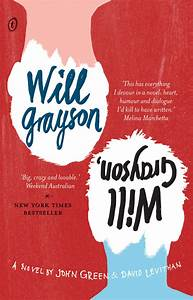 Text Publishing — Will Grayson, Will Grayson, book by John ...