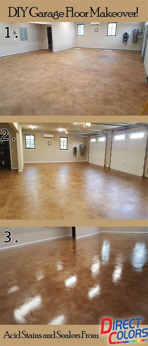 garage floor stain ideas   garage floor paint