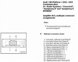 Oryginalne Audio W Audi A4   Nie Dzia U0142a Ty U0142 I Sub