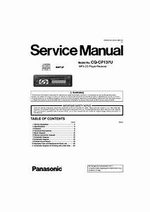 Panasonic Cq C7301u Wiring Diagram