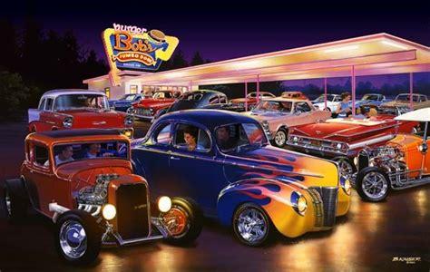 Bruce Kaiser Hot Rod Art, Burger Bobs