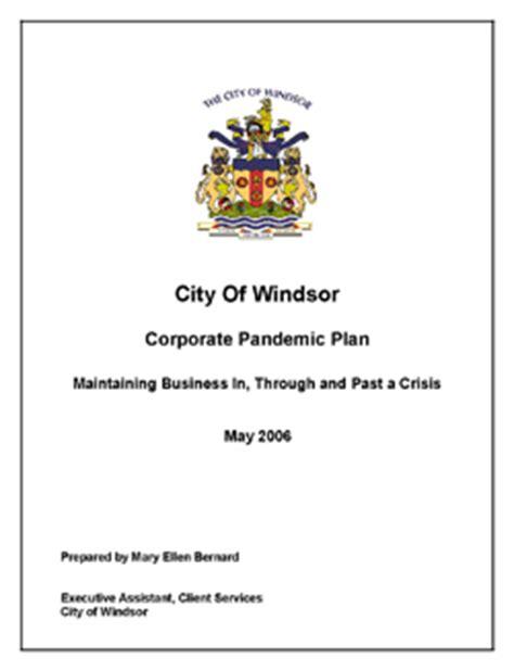 planning  pandemic flu