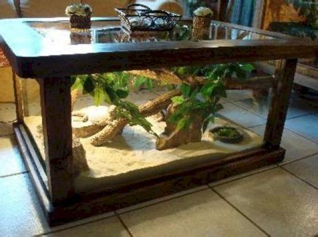Sturdy glass panels allow you to enjoy the beauty of your reptile in the garden. 25+ Incredible Terrarium Coffee Table Ideas / FresHOUZ.com in 2020 (With images)   Coffee table ...