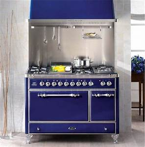 Brighten Your Kitchen with Colored Ranges