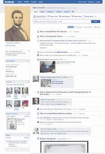 abe lincoln facebook twitter and teaching history With historical facebook page template