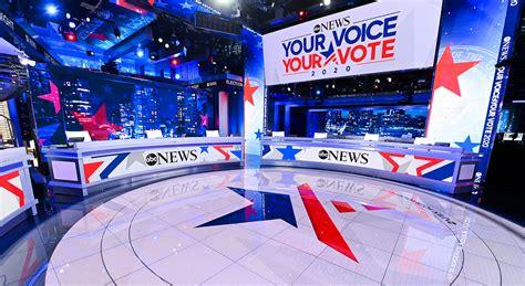 ABC News 2020 Election Headquarters Broadcast Set Design ...