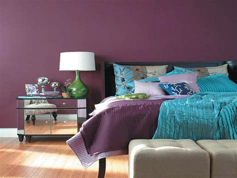 purple wall color best bedroom wall color purple
