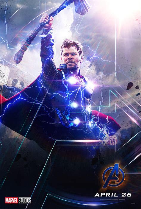 chris hemsworth thor avengers endgame marvel