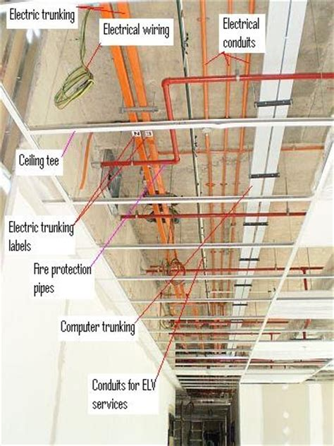 Electrical Installation Wiring Pictures Electric Trunking