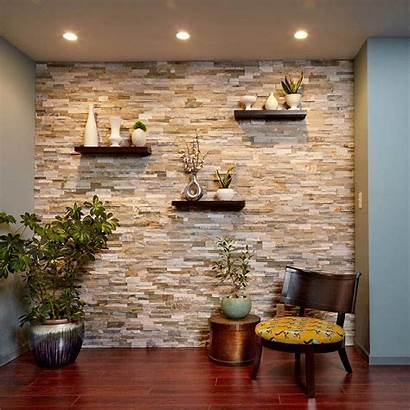 Accent Wall Stone Stunning Walls Yourself