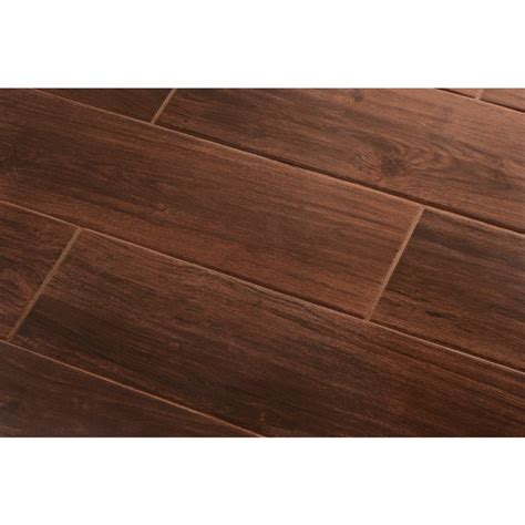 shop style selections serso black walnut glazed porcelain