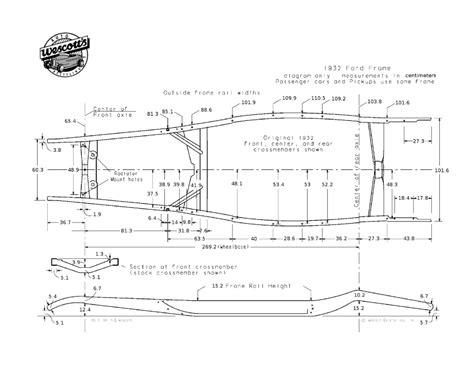 32 Ford Blueprint