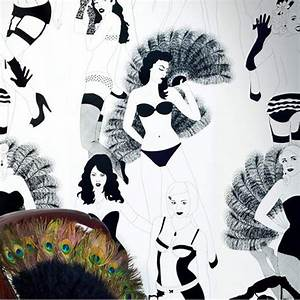 Burlesque Full-Scale Wallpaper, Dupenny Wallpaper, Buy ...