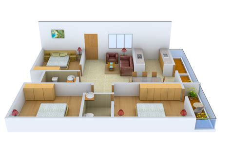 1275 Sq Ft 3 Bhk 2t Apartment For Sale In Ultimate Civic