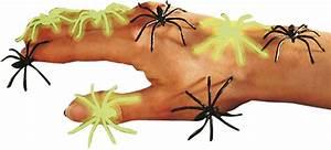 Partydeko Auf Rechnung : falsche halloween spinnen schwarz und phosphoreszierend partydeko und g nstige faschingskost me ~ Themetempest.com Abrechnung