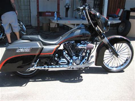 bagger fairing apes on road king 16 quot harley davidson forums