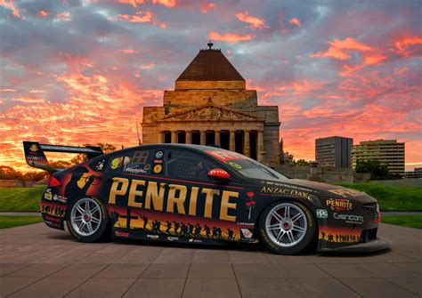 penrite race reveal anzac inspired livery  eseries