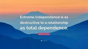 James Dobson Qu... Destructive Relationship Quotes