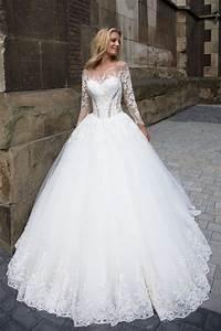 robe de mariee longue traine princesse robe de marie With robe de mariée longue traine