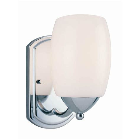 ls sconces paint illumine designer collection 1 light chrome sconce with