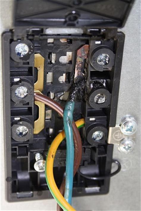 herd ohne starkstrom elektroherd anschluss durchgebrannt elektro forum