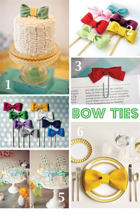 Bow Tie Baby Shower Ideas - paisley card co theme bow tie baby shower
