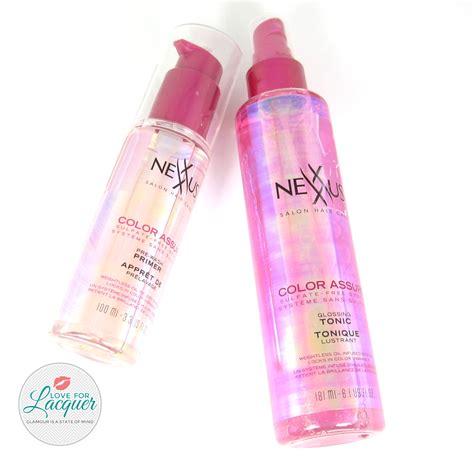 nexxus color assure pre wash primer nexxus color assure pre wash primer system review