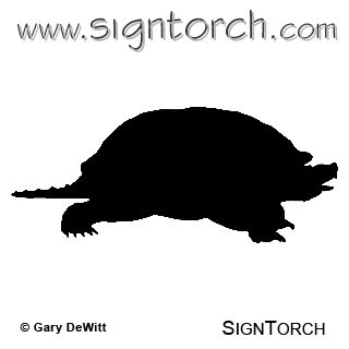 Snapping Turtle 3 _ : SignTorch, Turning images into ...