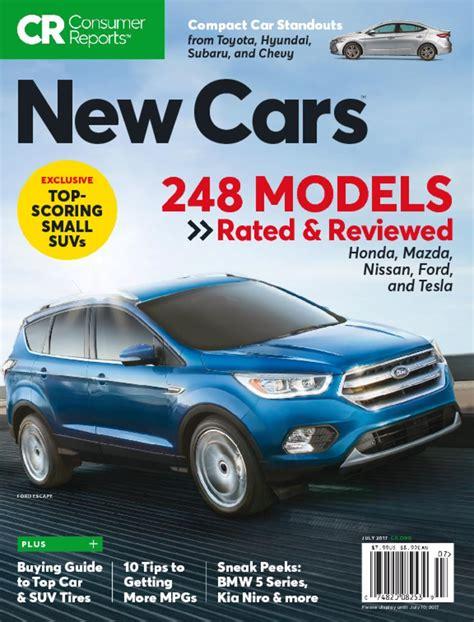 consumer reports  cars magazine digital