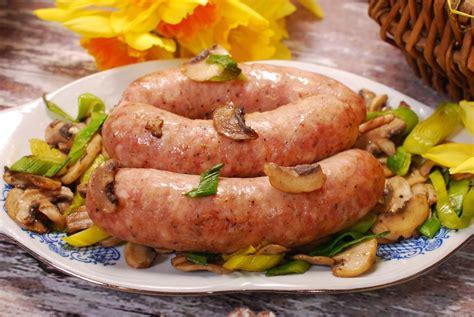cuisine au vin ros saucisse de toulouse au vin rosé et ses petits légumes