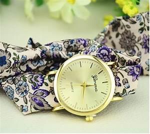 aliexpresscom acheter nouveaux gros ruban fleurs geneve With robe de cocktail combiné avec bracelet montre textile