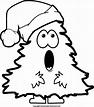 Christmas black and white clip art free christmas black ...