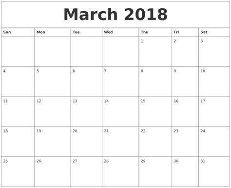 2018 word calendar march 2018 calendar word printable 2017 calendars