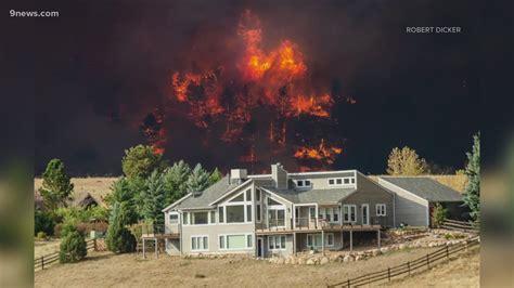 fires burning  boulder county forcing thousands