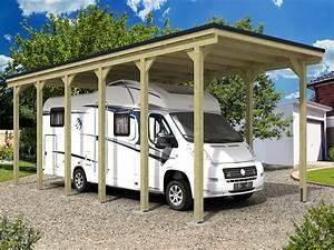 Carport Camping Car : carport bois un abri voiture pour tous abri chalet ~ Dallasstarsshop.com Idées de Décoration