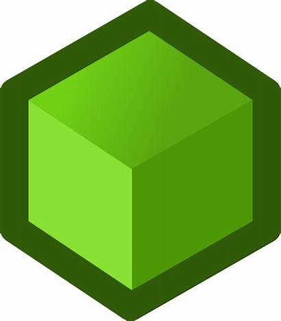 Cube Box Icon Shape Vector Clipart Clip