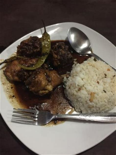 Chicken Adobo With Garlic Rice  Picture Of Squido's