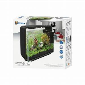 Petit Aquarium Design : aquarium noir design superfish home 40 litres animal co ~ Melissatoandfro.com Idées de Décoration