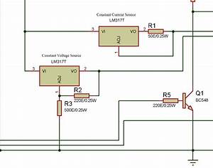 Designing Constant Current And Constant Voltage Source For