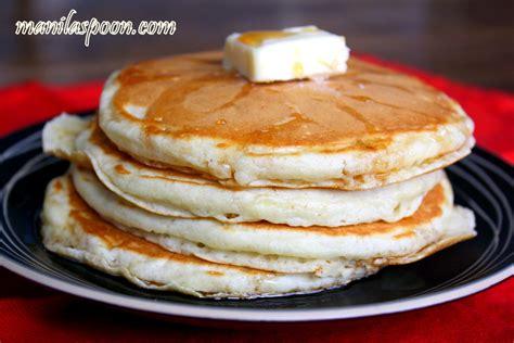 easy pancakes manila spoon easy homemade fluffy pancakes