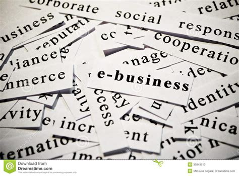 business concept  words related  business stock