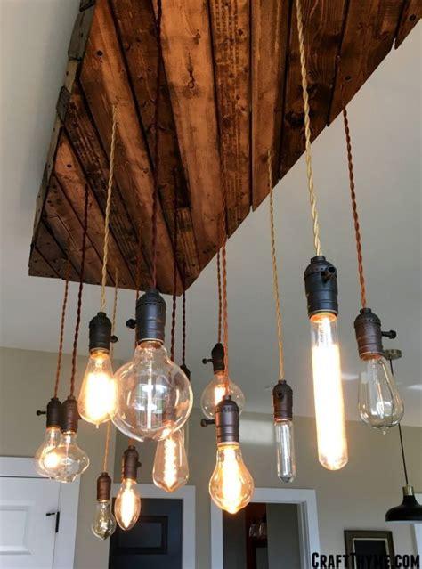 edison bulb chandelier  diy overview diy light